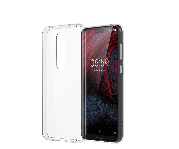 Back Case Nokia 6.1 Plus (X6) Clear