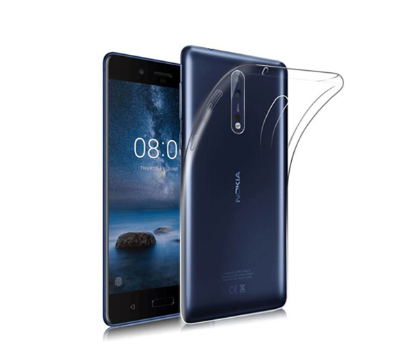 Back Case Nokia 8 Clear
