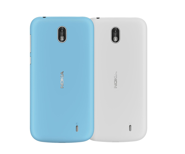 NOKIA 1 Back Case Dual Pack